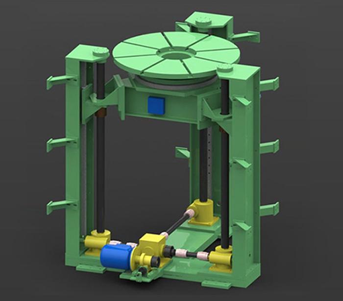 Vertical Winding Machine - Formertron Engineering Pvt  Ltd